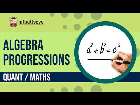 Algebra - Progressions