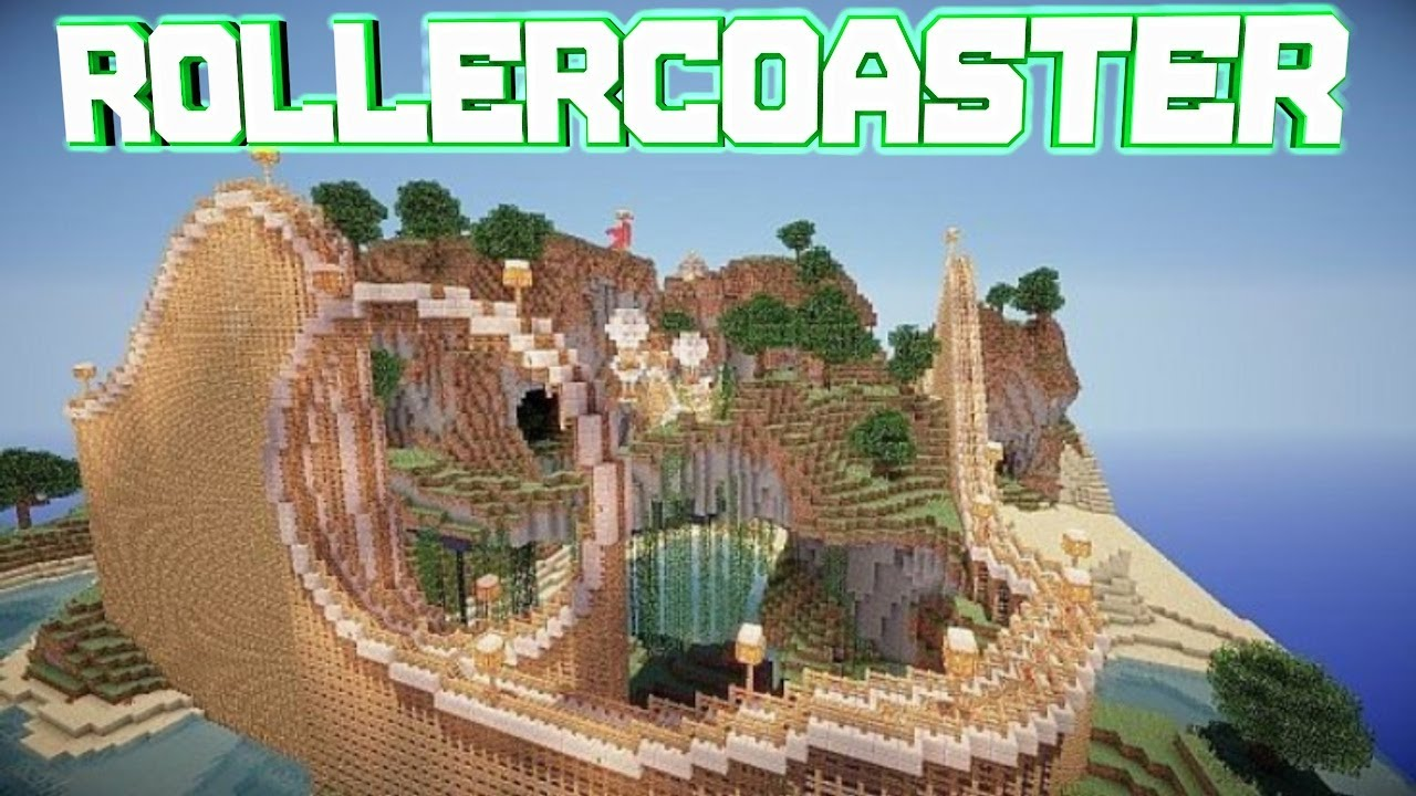 minecraft best roller coaster download