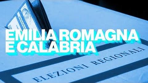 Emilia Romagna e Calabria, i risultati e le reazioni sui social - Timeline