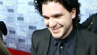 Game of Thrones' Kit Harington Reveals His Man Crush and Talks Love Scenes