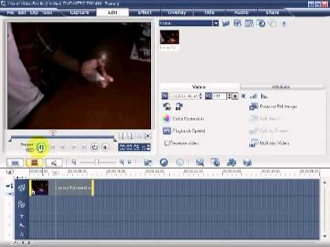 how to fast forward and slow motion on ulead video studio