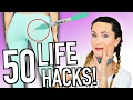 50 Simple Life Hacks To Improve Your Life!