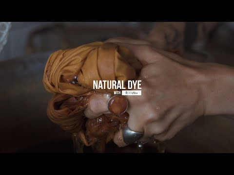 HOW TO NATURAL DYE WITH ONION SKINS AT HOME | BOTANICAL COLOUR | SHADES OF ORANGE