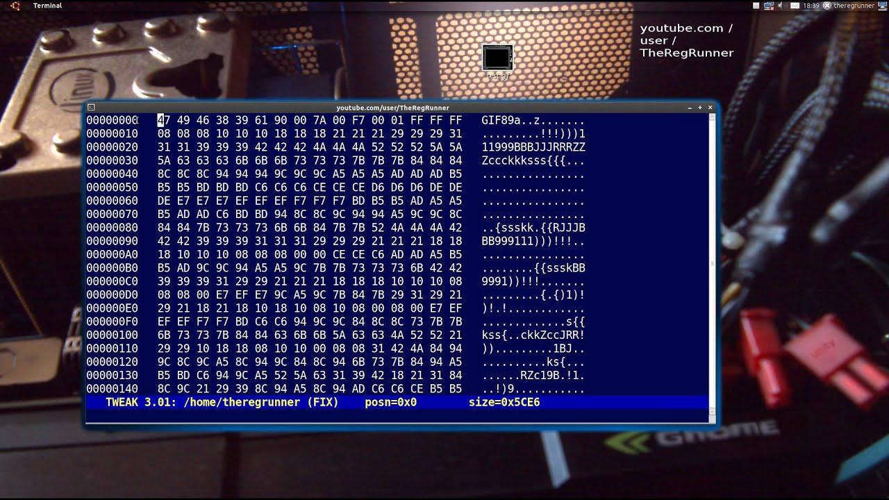 Ubuntu Hex Editor : Tweak + Bless