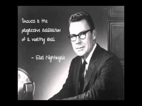 MUST LISTEN  The Strangest Secret in the World   Earl Nightingale