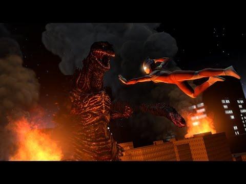 [SFM] Shin Godzilla vs Ultraman Tiga: Take me Higher Part 1