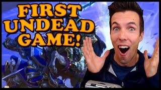 Grubby | Reforged BETA | UNDEAD is Here! First Game on the BETA!