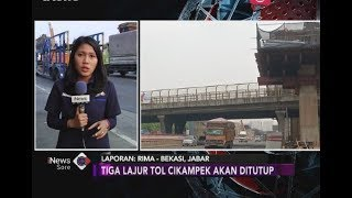 Persiapan Penutupan Tiga Lajur Tol Jakarta-Cikampek untuk Uji Proyek LRT - iNews Sore 17/07
