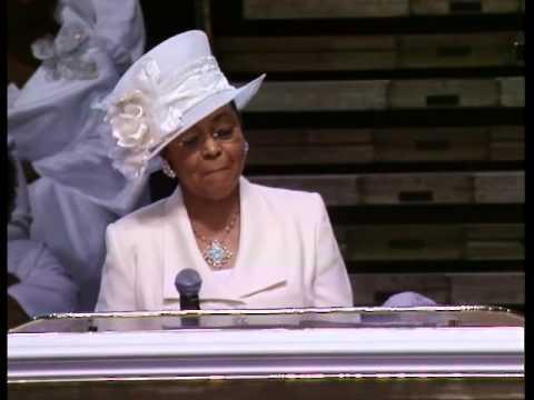 COGIC First Lady Mae L Blake Praise Break