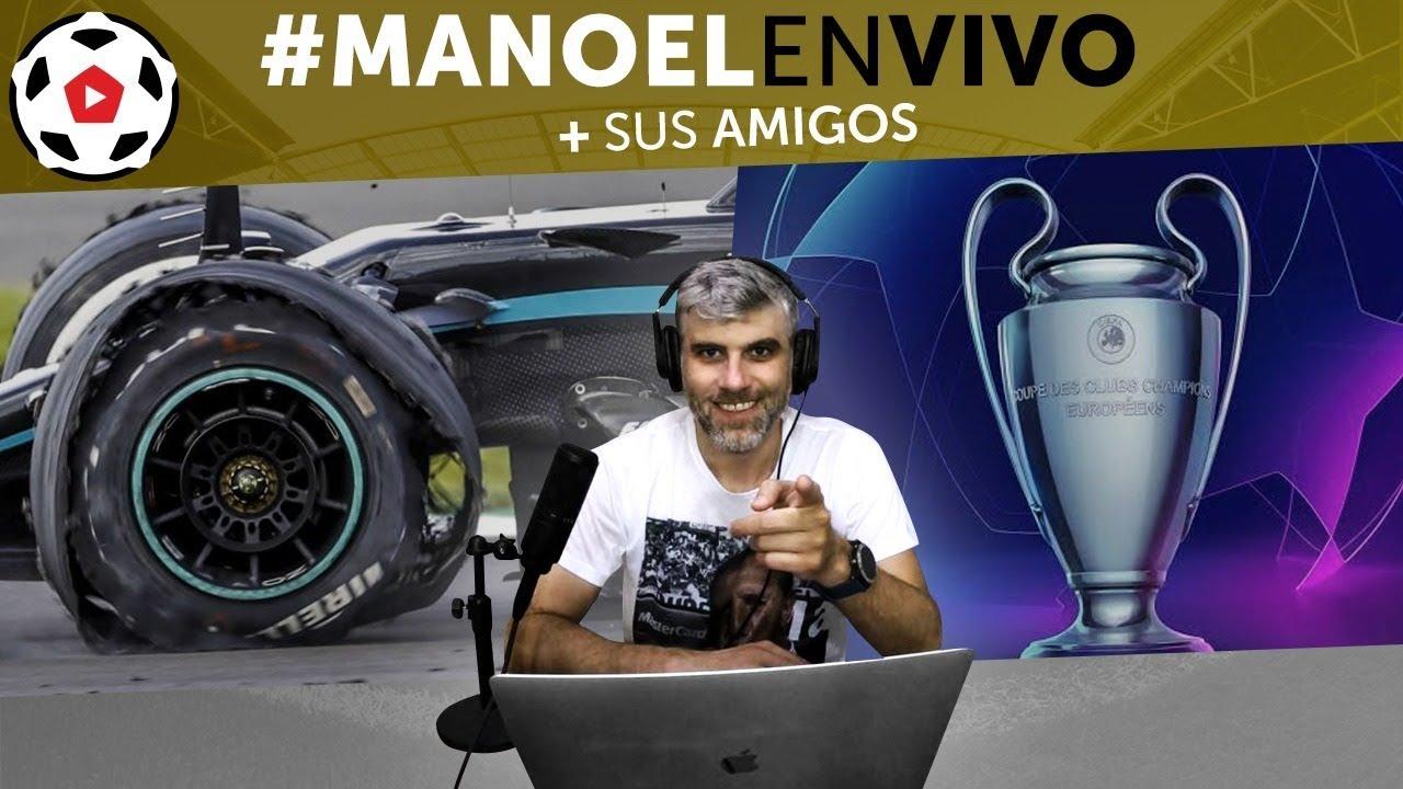 Vuelve la Champions League - El público y su importancia en el fútbol #MANOELenVIVO ep 82