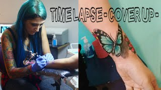 ►TATTOO FLASH◄ time-lapse cover up