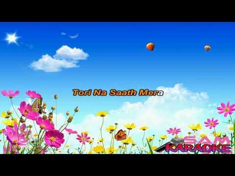 Tere_Bin_Nahin_Lagda-Nusrat_Fateh Karaoke Sam Karaoke
