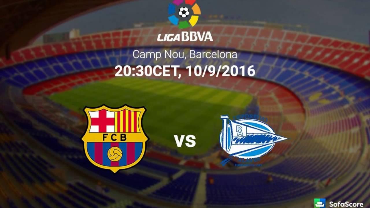 موعد مباراة برشلونة وديبورتيفو الافيس