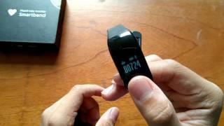 iQ Sports Smartband HPLUS D318 - Review y Unboxing