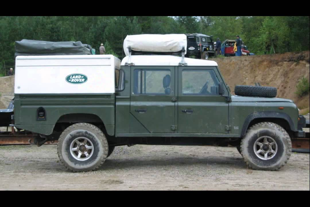 1990 land rover defender 130 youtube. Black Bedroom Furniture Sets. Home Design Ideas