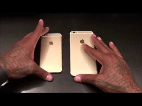 Iphone And Iphone Plus Unboxing Gold