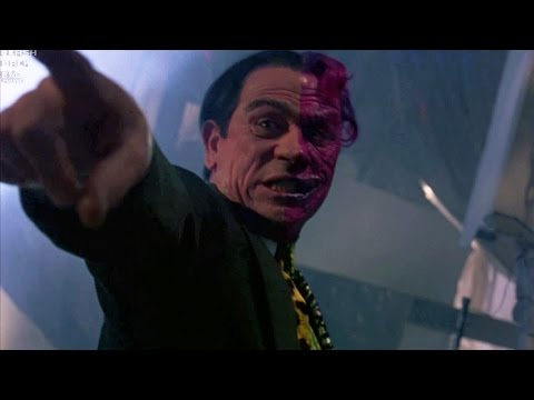 Two-Face robs a bank | Batman Forever