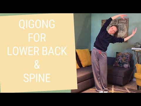 20 minute Qigong for Lower Back & Spine - Qigong Back Pain Relief
