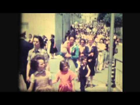 Feste patronali di Borrello fine Anni Settanta