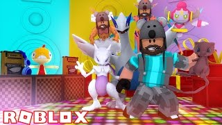 LEGENDARY DANCE PARTY + DEOXYS!!!!   Pokémon Fighters EX   ROBLOX