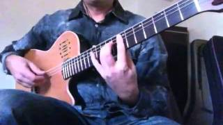The Hellion/Electric Eye (Judas Priest) Flamenco guitar-Ben Woods: HEAVY MELLOW