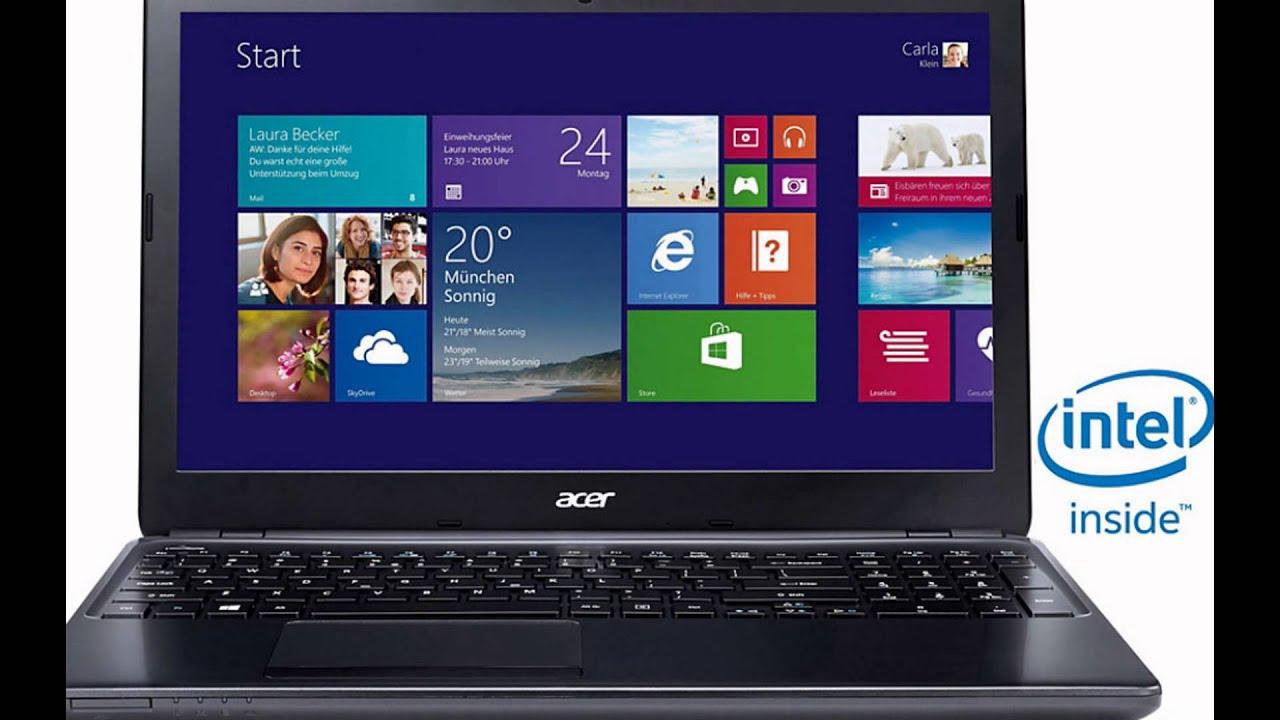 Aspire E1-510 драйвера Windows 7