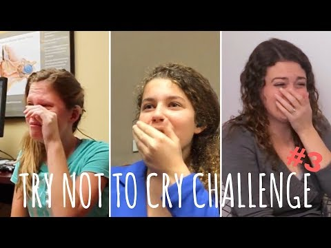 TRY NOT TO CRY CHALLENGE #3, people hearing sound for the first time