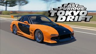 "Forza Horizon 3 - The Fast and The Furious Tokyo Drift - Veilside MAZDA RX7 ""Han"