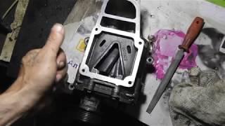 Нестандартный ремонт компрессора Мерседеса 2 Часть