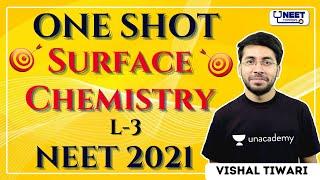 NEET Toppers: Surface Chemistry | One Shot | NEET 2021 | Vishal Tiwari