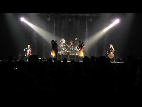 Apocalyptica performing Nothing Else Matters / One live at The Joint, Las Vegas 2017.10.01