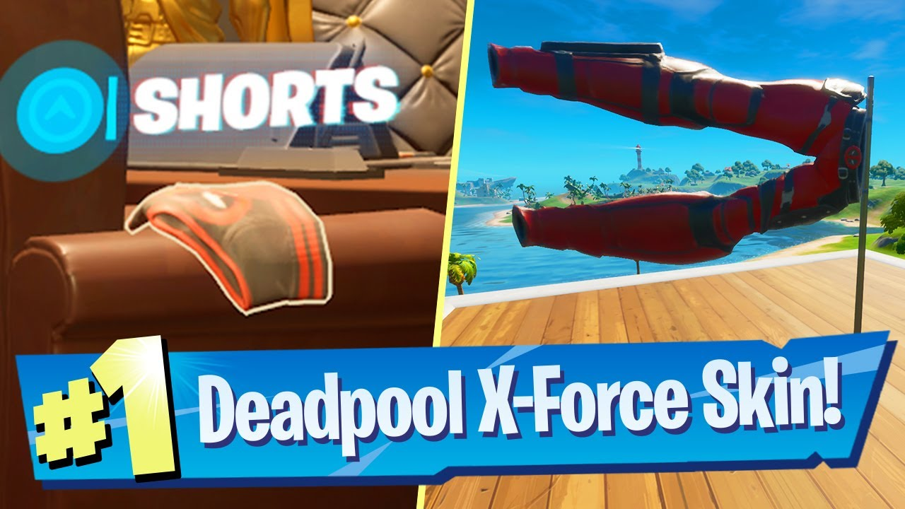 Fortnite Salute Deadpool's Pant Location  Where to Salute ...