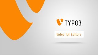 TYPO3 6.2: 4 Minutes Introduction / Crash course