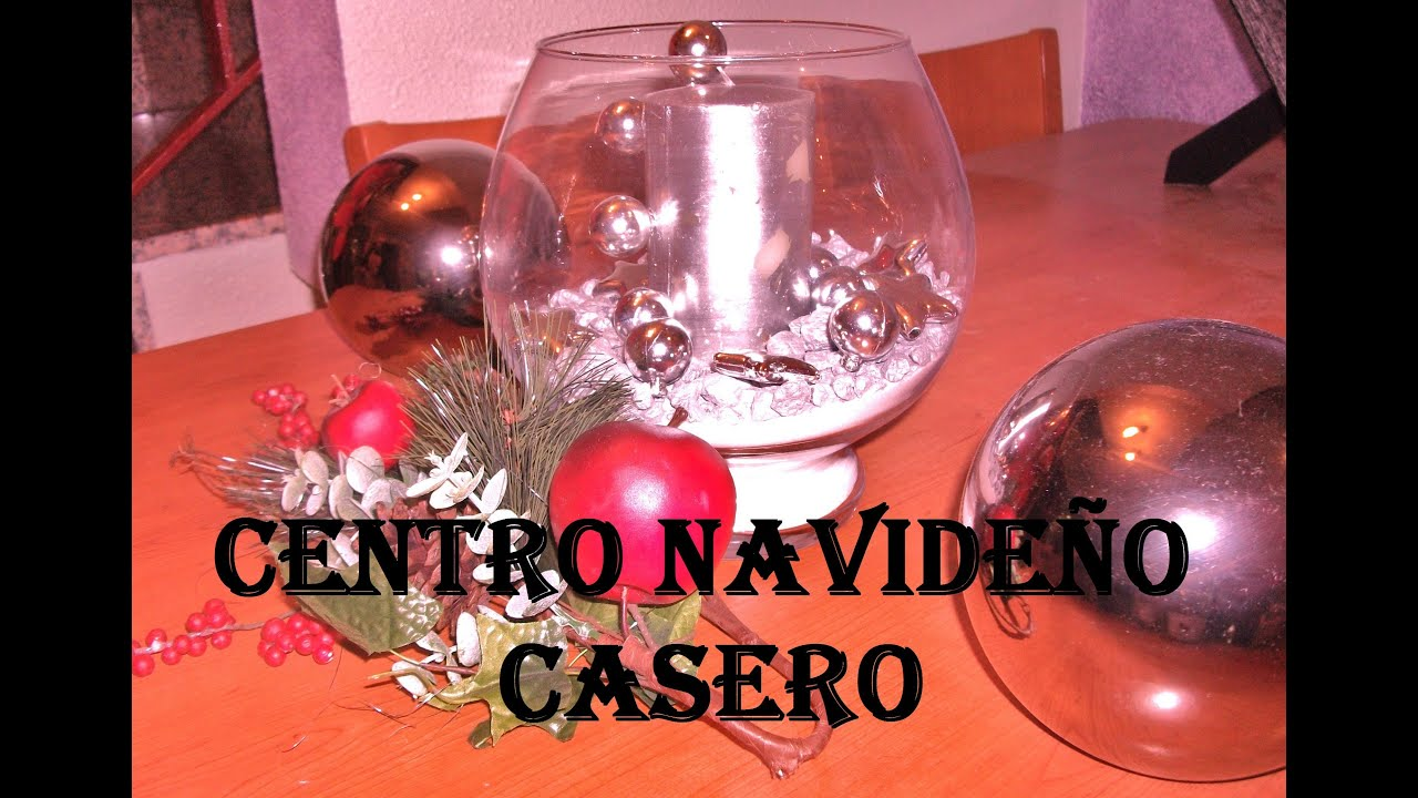Adornos navide os caseros youtube for Adornos navidenos en 5 minutos