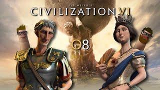 Civilization VI #08 - Die Eroberung einer feindlichen Stadt | Let's Play together