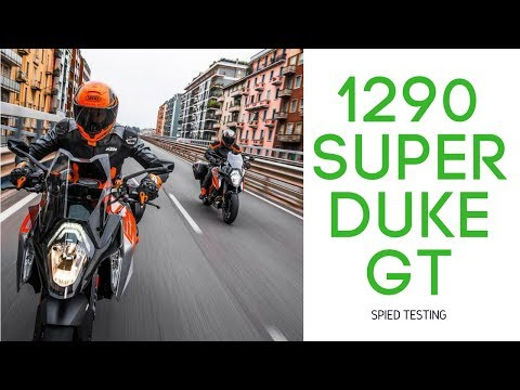 2019 KTM 1290 Super Duke GT First Look | Spotted Testing