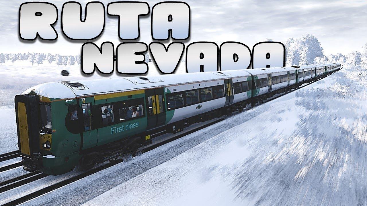 🚊 RUTA por la NIEVE 🌨️ - TSW 2020 Gameplay