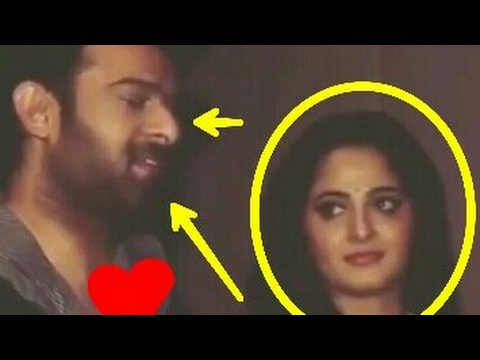 Anushka is in love with Prabhas?  Here is...