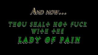 Counter Monkey - Thou Shalt Not Fuck With the  Lady of Pain