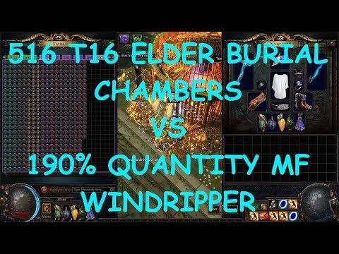 Is Zana's Elder Map Mod Profitable? 516 T16 Burial Chambers Experiment | demi ' Splains