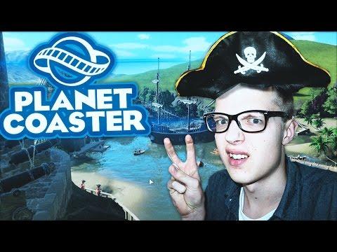HET IS EINDELIJK UIT!! - Planet Coaster #1