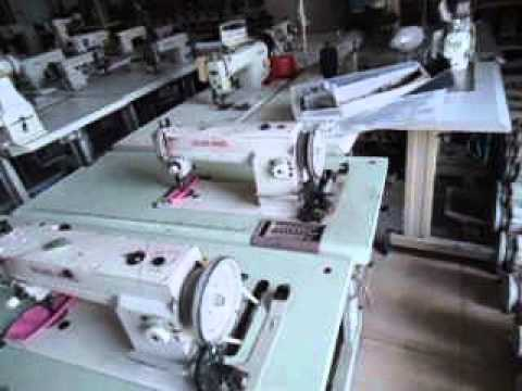 For Sale Used Industrial Leather Sewing Machines From Vietnam YouTube Custom Industrial Sewing Machines Used