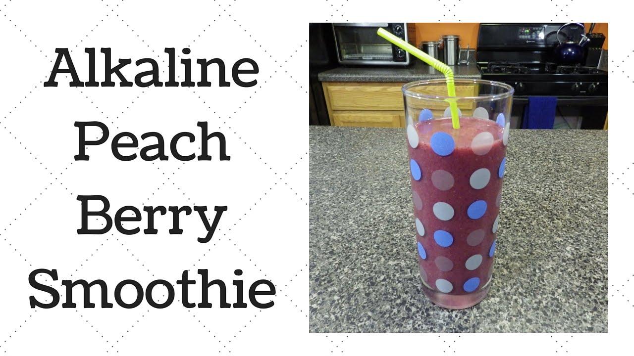 Peach Berry Smoothie Dr  Sebi Alkaline Electric Recipe