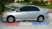 how to install stereo toyota corolla 2006-2008 - YouTube