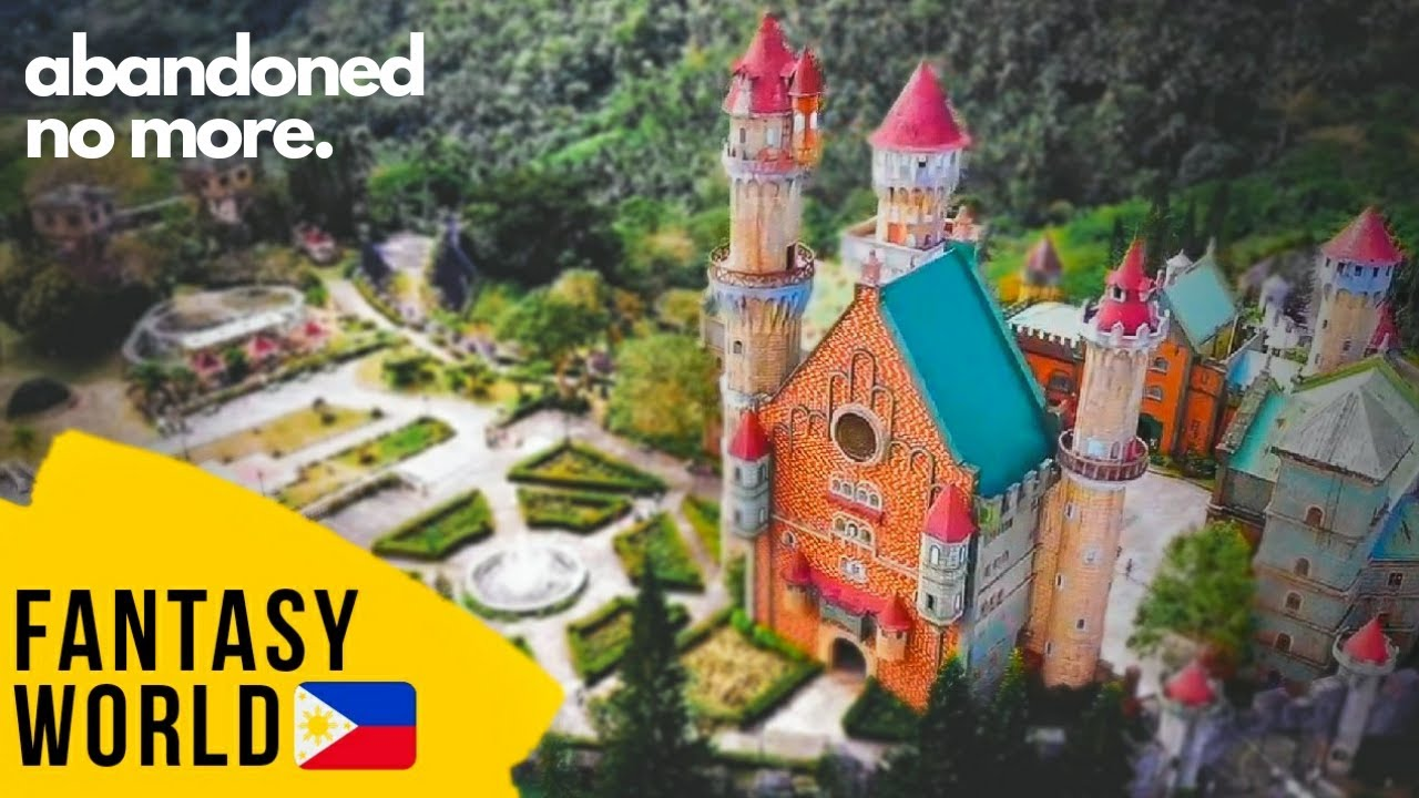 WHAT'S NEW about the Disney World of the Philippines? | Fantasy World in Lemery, Batangas 2019