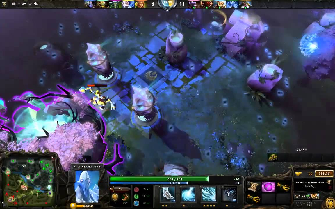 dota 2 rip tinker shout out to bloodseeker for map hacks dota2