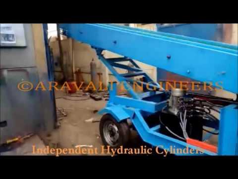 Telescopic Truck Loader & Unloader By Aravali Engineers, Noida