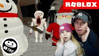 CHRISTMAS HAUNTED ELEVATOR-The Scary Elevator! | Roblox | Daddy and Yohana CZ/SK