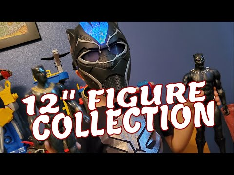 """my-massive-collection-of-12""""-marvel-and-star-wars-figures!"""