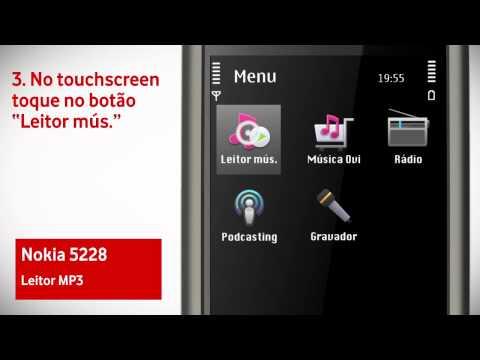 Nokia 5228 - Acesso ao Leitor de MP3